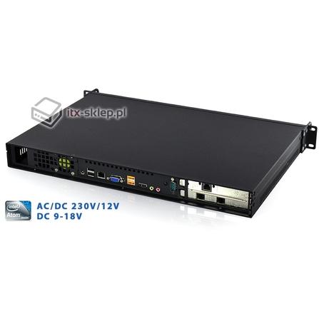 Komputer przemysłowy Rack 1U Atom D2800 4GB 4xLAN 1xRS-232 Delta-Rack-D2800-1