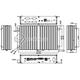 Komputer NUC Fanless Celeron N2930 1,83GHz 4GB SSD 120GB Delta-NUC4-SSD120-WiFi 9-24VDC