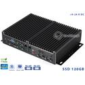 Komputer Fanless Intel Core i5-4570T 2.90GHz 8GB SSD 120GB Delta-NUC10-i5-SSD120 9-24VDC Intel AMT vPRO