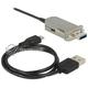 Przedłużacz optyczny USB 3.0 A-A 20m M-F Delock 83739