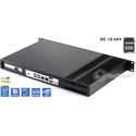 Serwer fanless Core i3-6100T 3,20GHz 8GB DDR4 2xLAN 1xSFP Delta-Silent1-i3-SSD120 DC12-24V