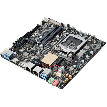 Asus Q170T Thin mini-ITX Q170 Skylake LGA1151 2xLAN 12-19V DC vPRO