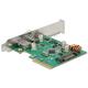 Kontroler 1xUSB 3.1 1xUSB Typ-C PCI-Express x4 złącze zewnętrzne Delock 89562