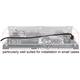 Kabel SATA 6 Gb/s elastyczny FLEXI prosty 40cm czarny zatrzask HTPC 84864