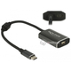 Adapter USB Typ-C męski - mini DisplayPort żeński (DP Alt Mode) 4K 60Hz Delock 62990