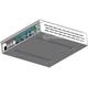 Obudowa aluminiowa Delta-Z mini-ITX dla płyt Thin mini-ITX 17x17cm