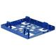 Aluminiowa ramka montażowa do dysku 2x 2,5 kolor niebieski
