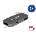Stacja dokująca MacBook Pro 5K 2x Thunderbolt USB Power Delivery Delock 87739