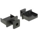 Zaślepka przeciwkurzowa gniazda USB Typ-A męska z uchwytem czarna Delock 64009