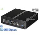Komputer przemysłowy fanless 9. generacji Core i3-9100 3,1GHz 2xLAN 8GB M.2 SSD 128GB i3-H310-SSD128