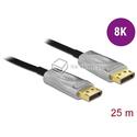 Aktywny kabel optyczny DisplayPort 1.4 męski - męski 8K HDR 25m Delock 85888