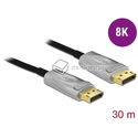 Aktywny kabel optyczny DisplayPort 1.4 męski - męski 8K HDR 30m Delock 85889