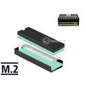 Radiator odbiornik ciepła do dysku M.2 SSD 2280 Delock 18353